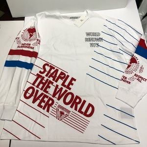 Staple pigeon Olympic white longsleeve T-shirt